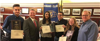 Merrick Kiwanis Honors Graduating Seniors photo